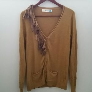 Anthropologie - Sparrow Button Front Cardigan M